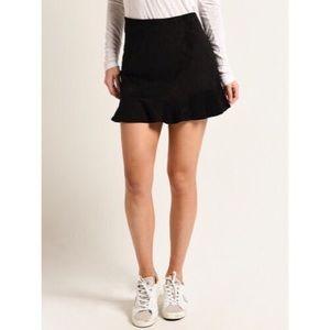 Jack by bbdakota faux suede skirt